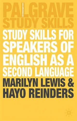 Study Skills for Speakers of Eng as a Second Lang