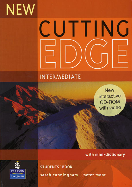 New Cutting Edge Intermediate Students' Book and CD-ROM Pack