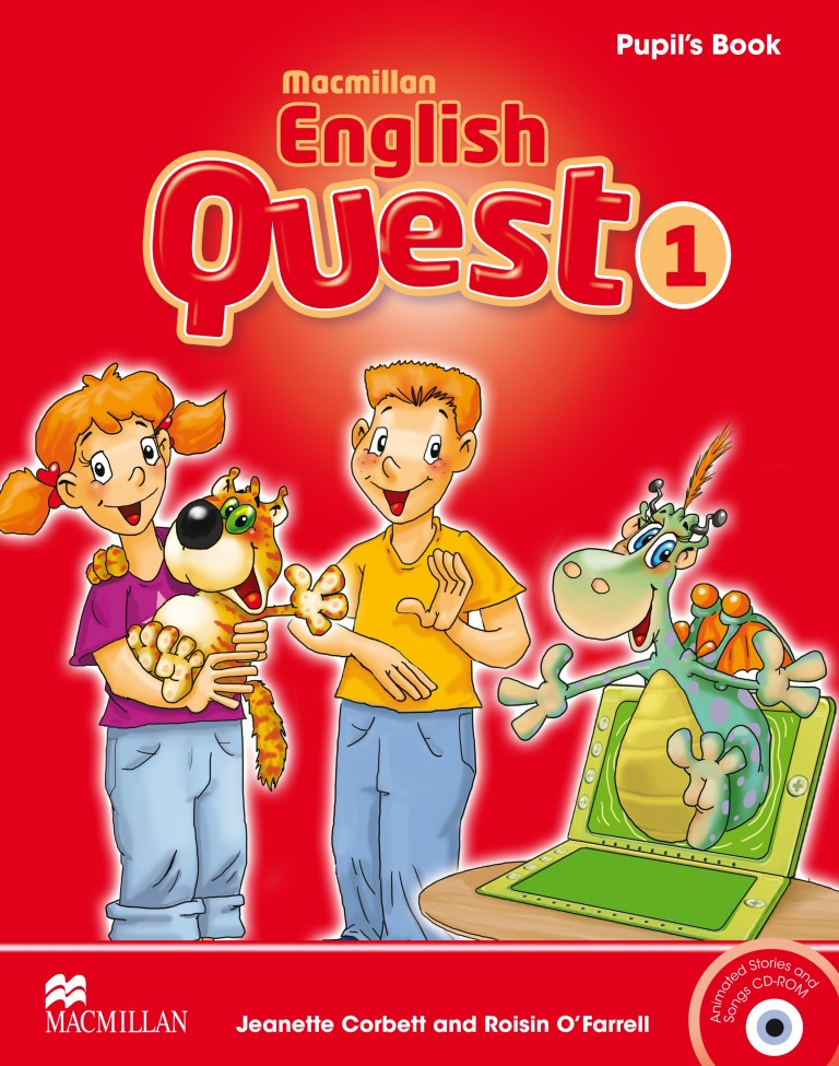 Macmillan English Quest 1 Pupil's Book Pack