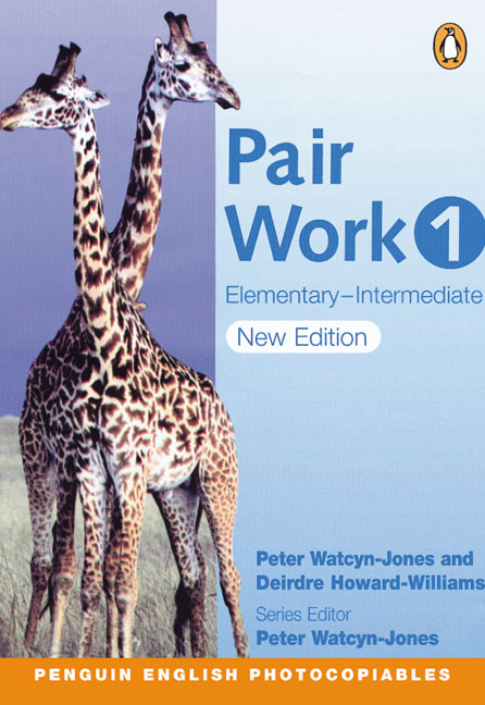 Pair Work 1 Elementary-Intermediate