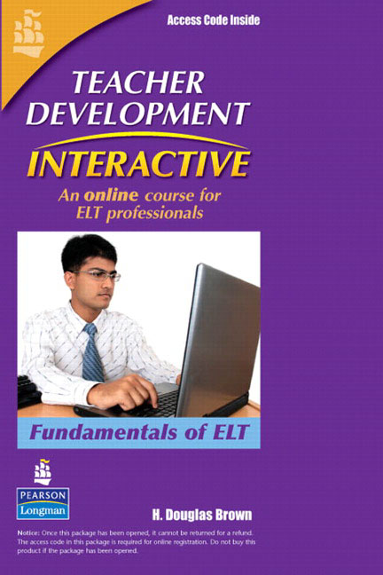 Teacher Development Interactive: Fundamentals of ELT Student Access Card