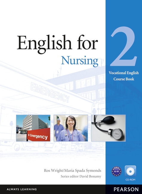 English for Nursing 2 Coursebook and CD-ROM Pack