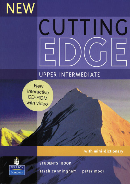 New Cutting Edge Upper Intermediate Students' Book and CD-ROM Pack