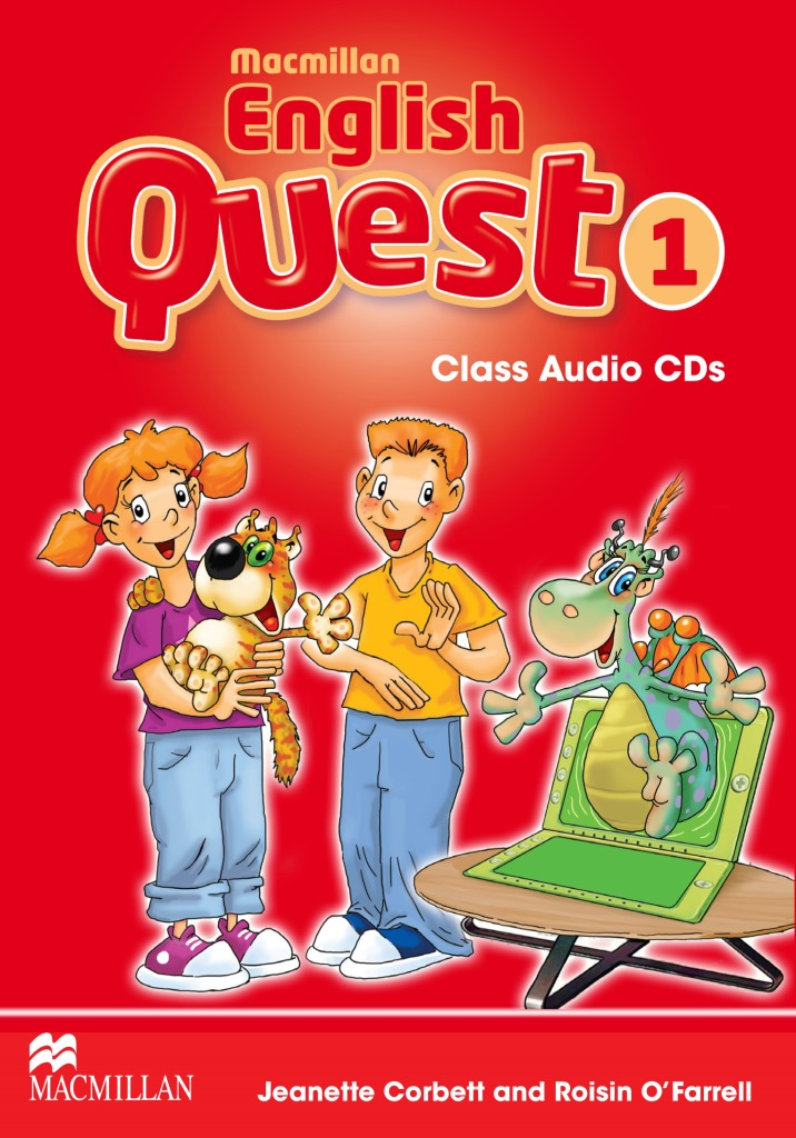 Macmillan English Quest 1 Class Audio CDx3