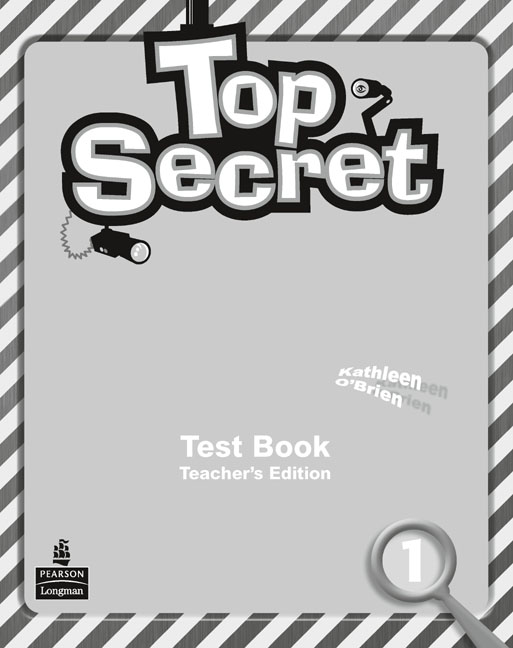 Top Secret 1 Test Book Teacher's Edition