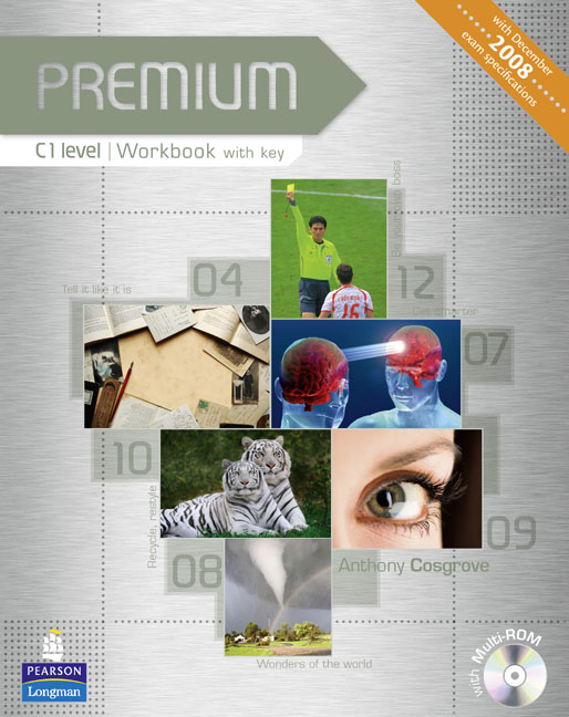 Premium C1 Workbook with Key/Multi-Rom Pack