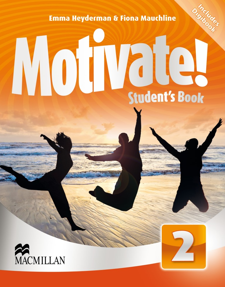 Motivate! 2 Student's Book + CD-ROM