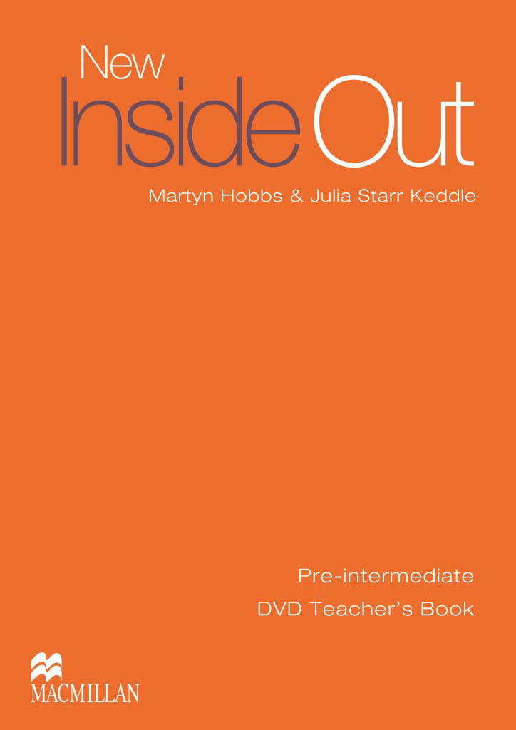 New Inside Out Pre-Intermediate Teachers DVD Book