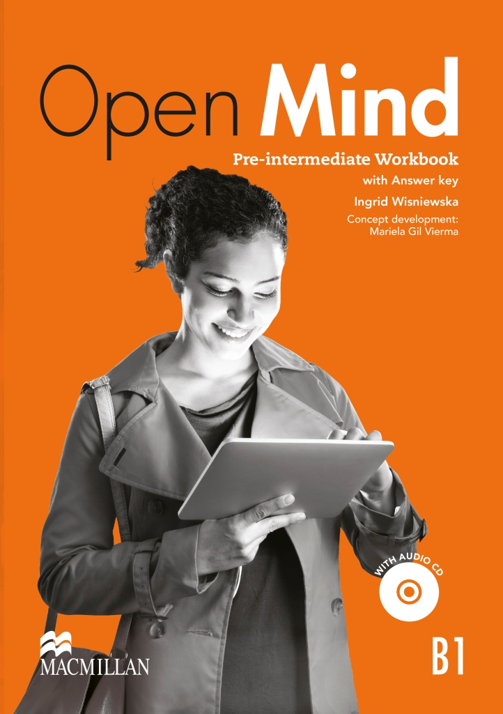 Open Mind Pre-intermediate Workbook with key & CD Pack British edition