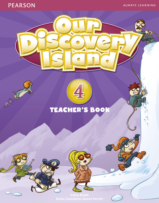 Our Discovery Island 4 Teacher's Book plus pin code