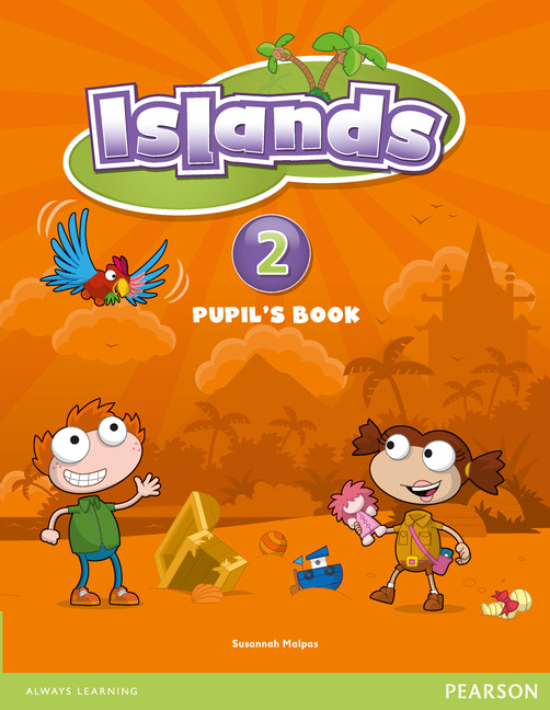 Islands 2 Pupil's Book plus pin code