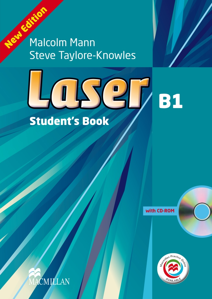 Laser 3ed B1 Student's Book & CD-ROM with MPO
