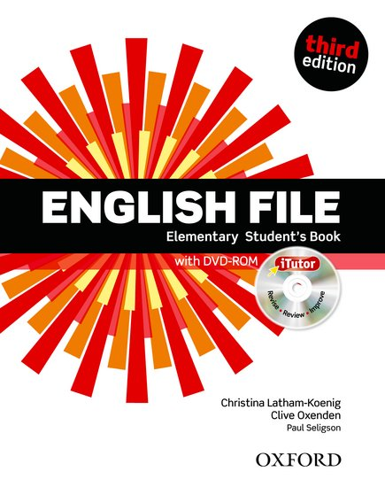 English File 3ed Element Student's Book + itutor