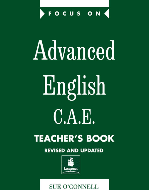 Focus on Advanced English CAE Teacher's Book New Edition