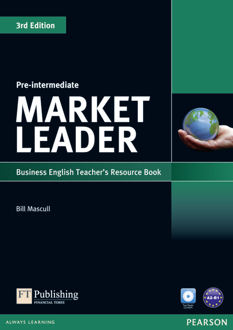 Market Leader 3ed Pre-Intermediate Teacher's Resource Book/Test Master CD-ROM Pack