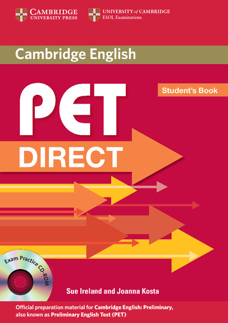 PET Direct Student's Book with CD-ROM