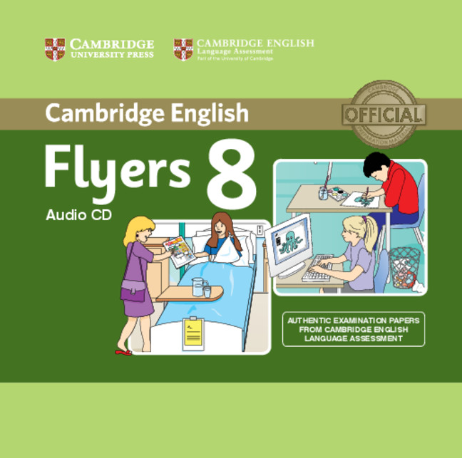 Cambridge English Young Learners 8 Flyers Audio CD