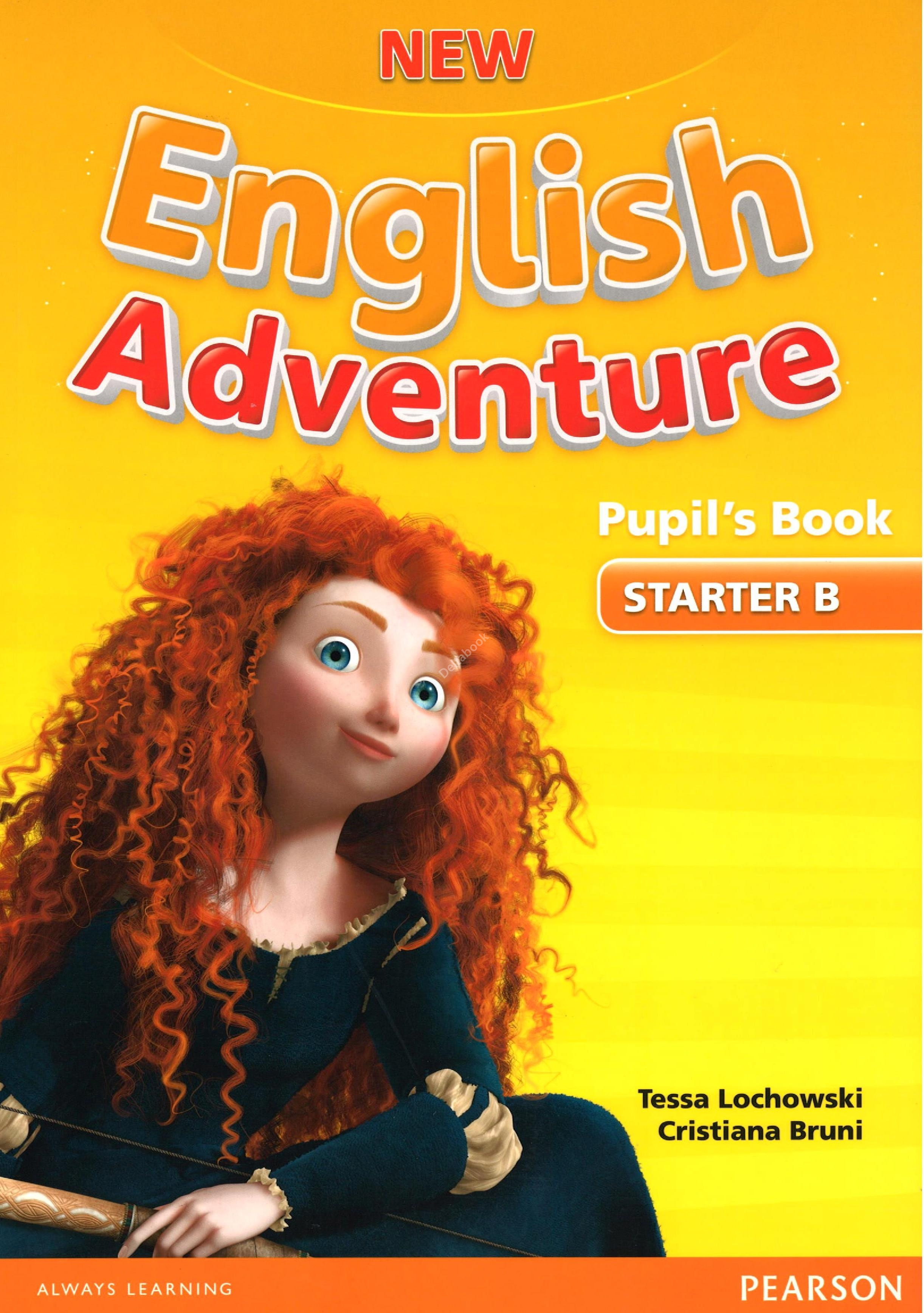 New English Adventure Starter B Pupil's Book + DVD