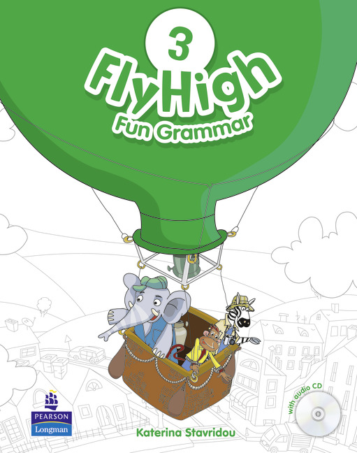 Fly High 3 Fun Grammar Pupil's Book and CD Pack