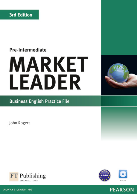 Market Leader 3ed Pre-Intermediate Practice File & Practice File CD Pack