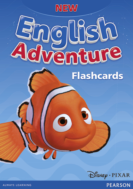New English Adventure Starter A&B Flashcards