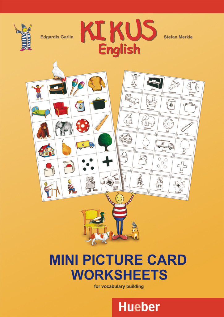 KIKUS English Mini Picture Card Worksheets