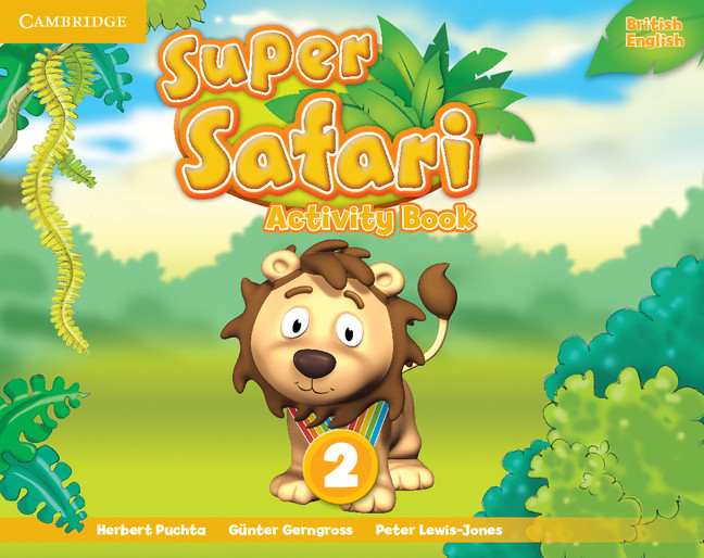 Super Safari Level 2 Activity Book