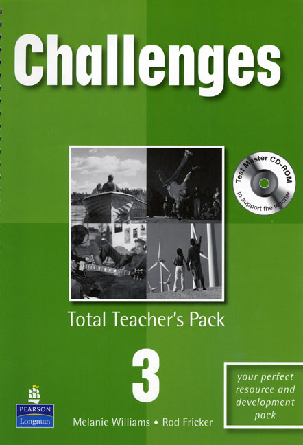 Challenges 3 Total Teacher's Pack and Test Master CD-Rom Pack
