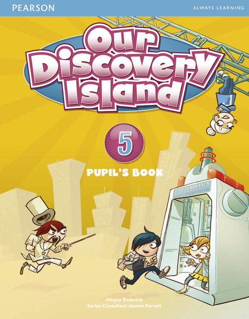 Our Discovery Island 5 Pupil's Book plus pin code