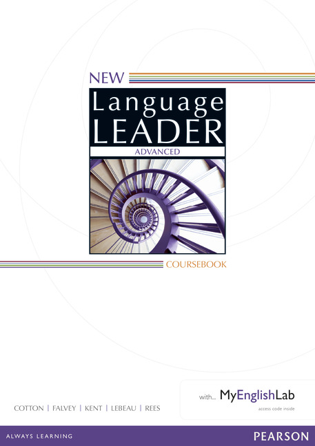 New Language Leader Advanced Coursebook with MyEnglishLab Pack