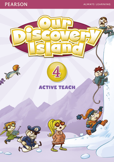 Our Discovery Island 4 Active Teach