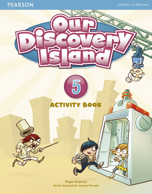 Our Discovery Island 5 Activity Book and CD-ROM Pack