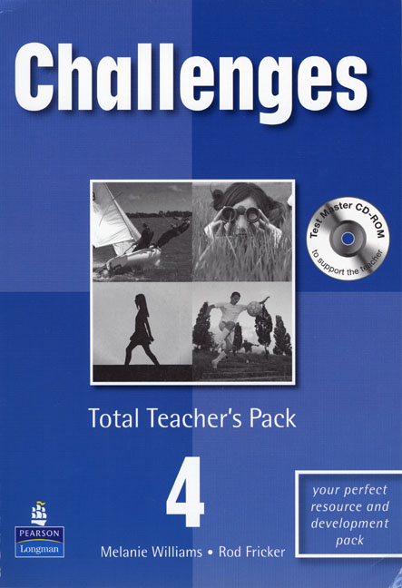 Challenges 4 Total Teacher's Pack and Test Master CD-Rom Pack