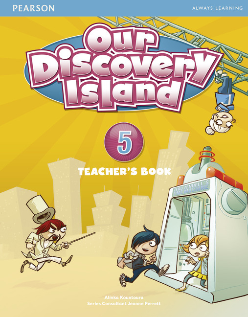 Our Discovery Island 5 Teacher's Book plus pin code