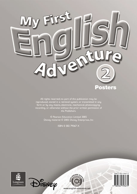 My First English Adventure 2 Posters