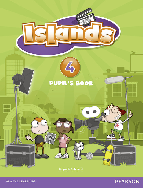 Islands 4 Pupil's Book plus pin code