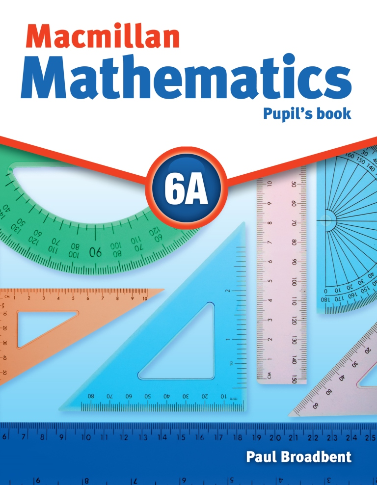 Macmillan Maths 6A Pupil's Book & CD-ROM Pack