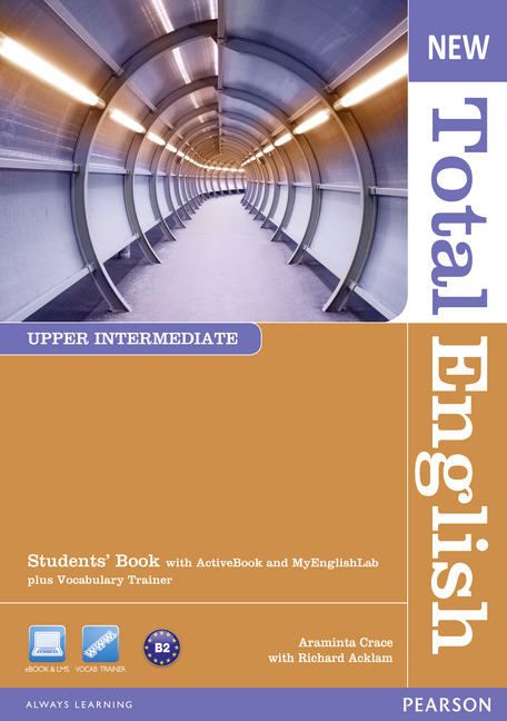 New Total English Upper Intermediate Students' Book with Active Book and MyLab Pack