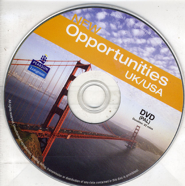 New Opportunities UK/US DVD PAL