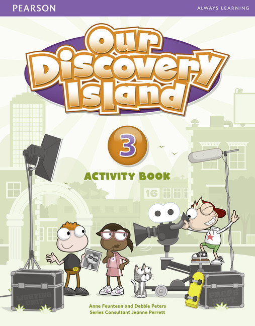 Our Discovery Island 3 Activity Book and CD-ROM Pack