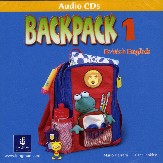 Backpack 1 Students CD