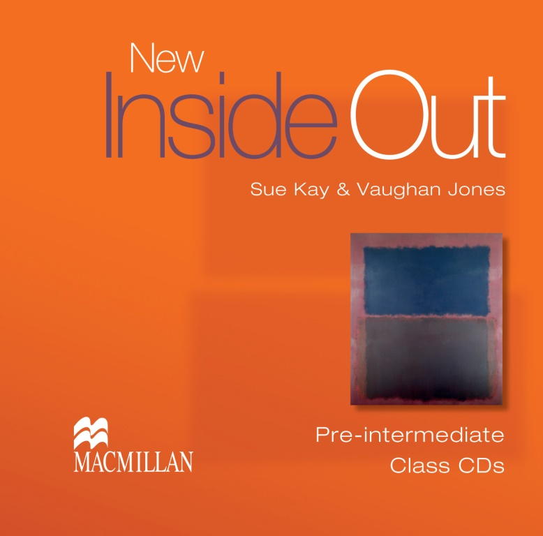 New Inside Out Pre-Intermediate Class Audio CDx3
