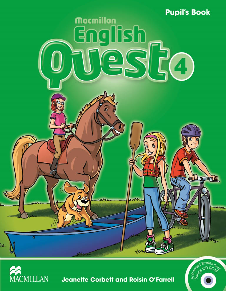 Macmillan English Quest 4 Pupil's Book Pack