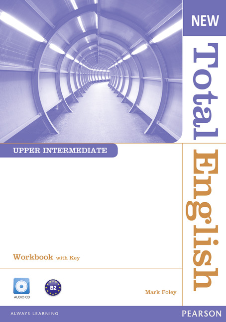 New Total English Upper Intermediate Workbook with Key and Audio CD Pack