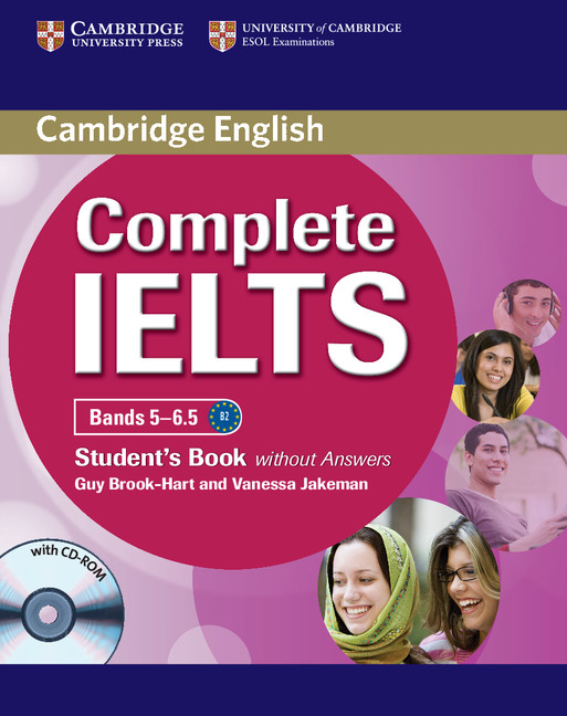 Complete IELTS Bands 5-6.5 Student's Book without Answers with CD-ROM