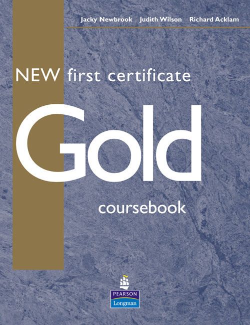New First Certificate Gold Coursebook