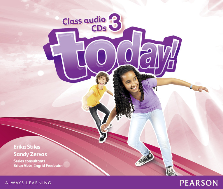 Today! 3 Class CD