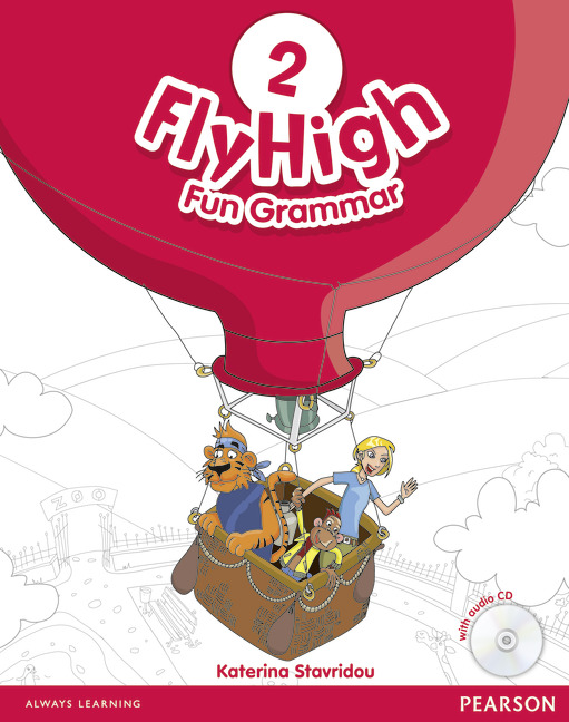 Fly High 2 Fun Grammar Pupil's Book and CD Pack
