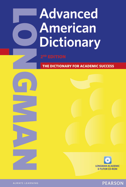 Longman Advanced American Dictionary 2ed Paper and CD ROM Pack