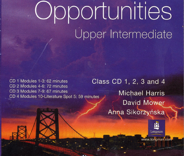 Opportunities Upper-Intermediate Class CD 1-4